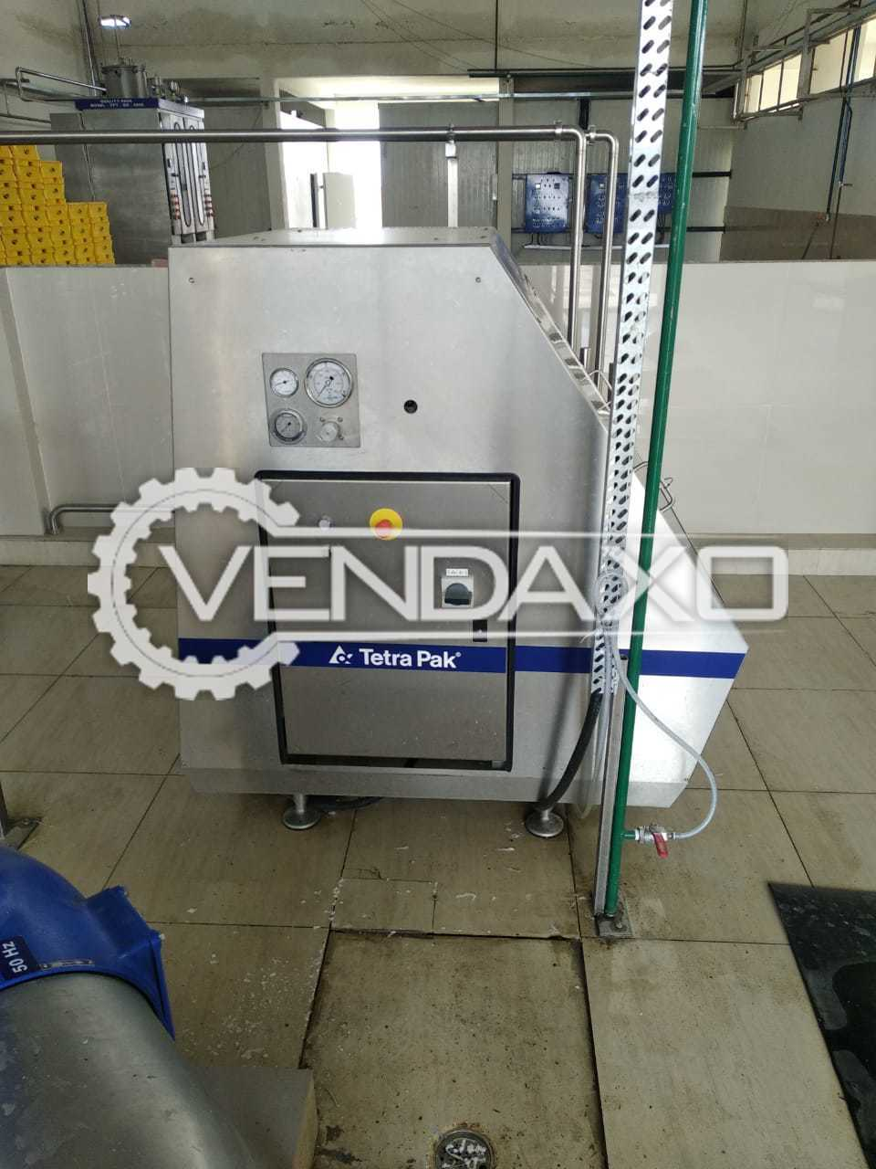 Tetra Pak Milk Pasteurizer - 5 KL