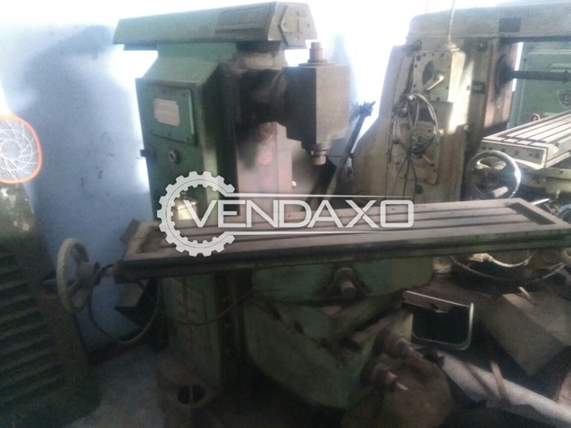 Milling machine size no 2 3
