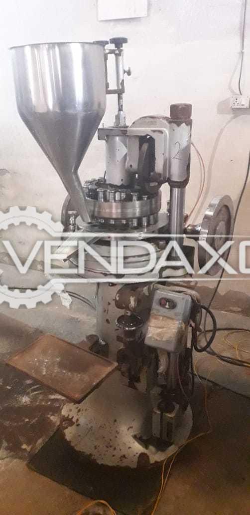Chamunda Make Pharma Tablet Machine - 20 Station