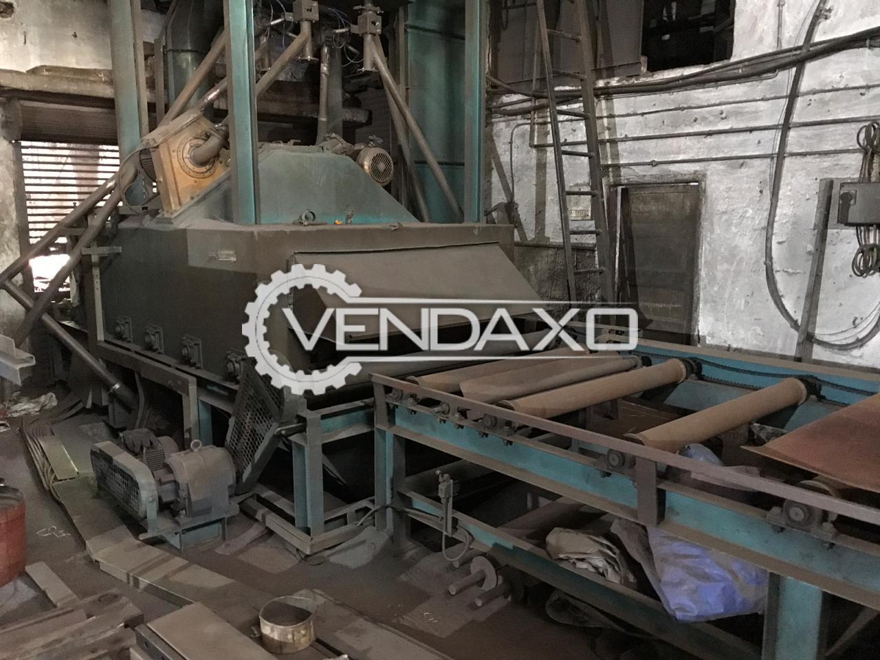 Murzello Shot Blasting Machine - 1200 x 2000 x 850 mm