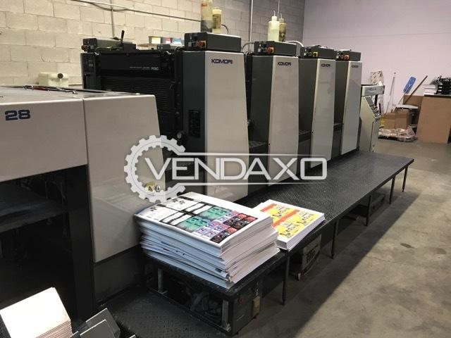 Komori L428 Offset Printing Machine - 4 Color