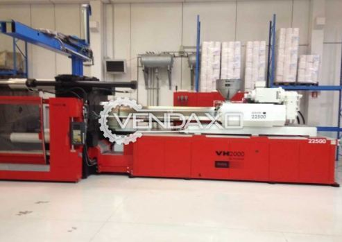 NEGRI BOSSI VH2000-22500 Injection Moulding Machine - Power - 453 KW