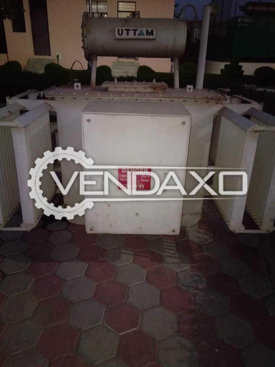Uttam Bharat Transformer - 500 Kva, 2015 Model