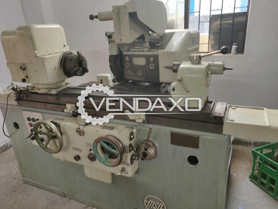 MSO Make ID and OD Grinding Machine - 700 x 165 mm