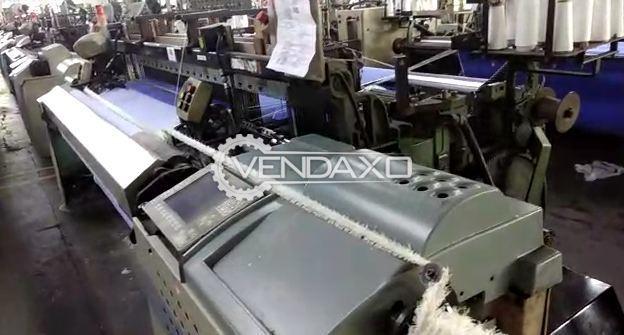 Picanol Gamma-4-R Weaving Machine - Width - 190 to 220 CM