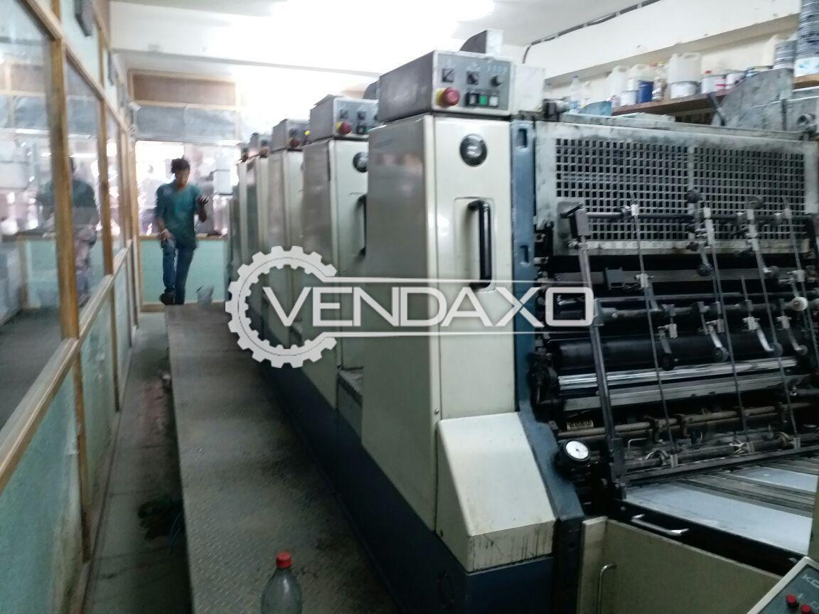 KOMORI LITHRONE 528 Offset Printing Machine - 5 Color