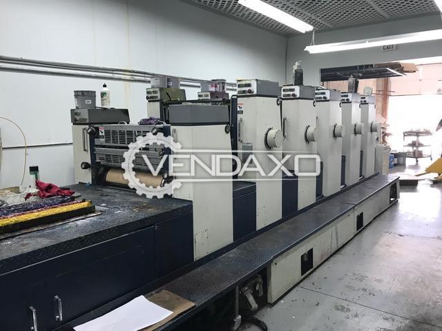 KOMORI NL-628 Offset Printing Machine - 6 Color