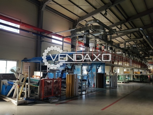 Available For Sale Used Korea Make OPP (Adhesive) Tape Production Plant