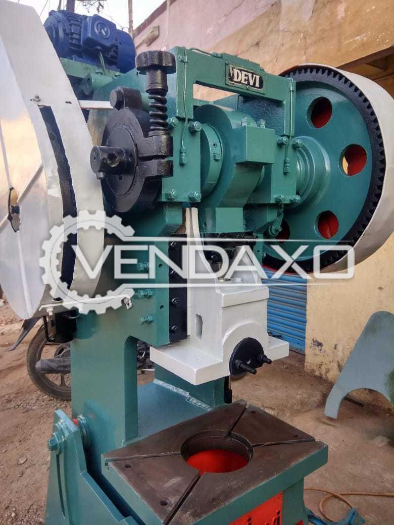 Devi Make Power Press - 30 Ton
