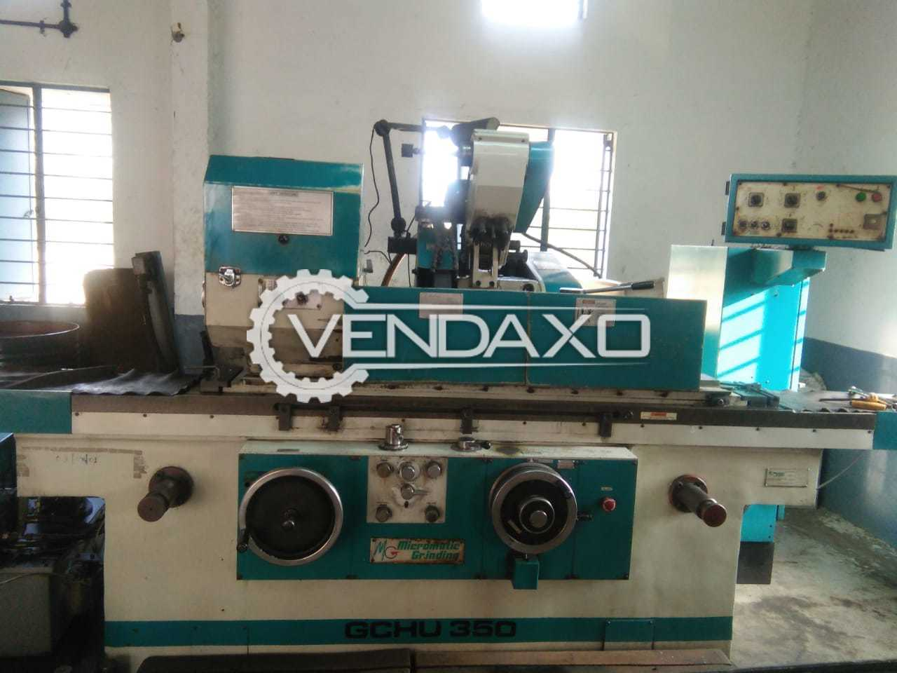 Micromatic GCHU 350 ID and OD Grinding Machine - 800 mm