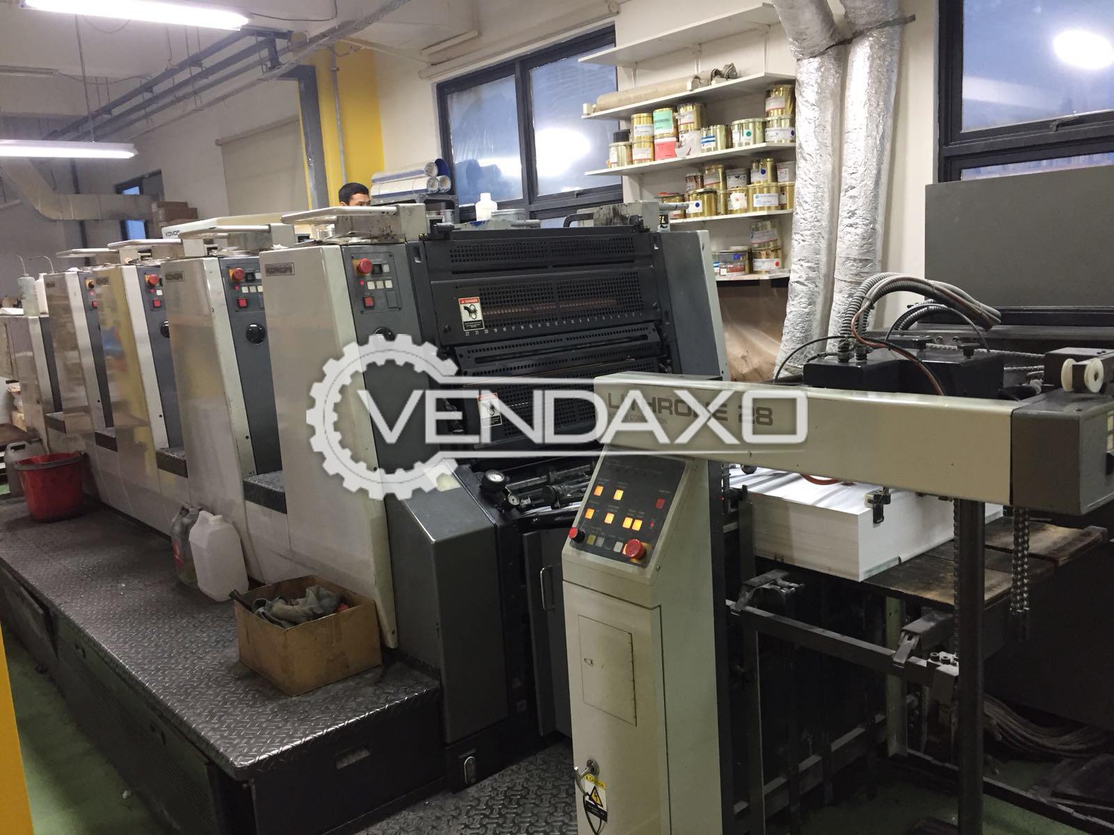 KOMORI LITHRONE 428 Offset Printing Machine - 4 Color