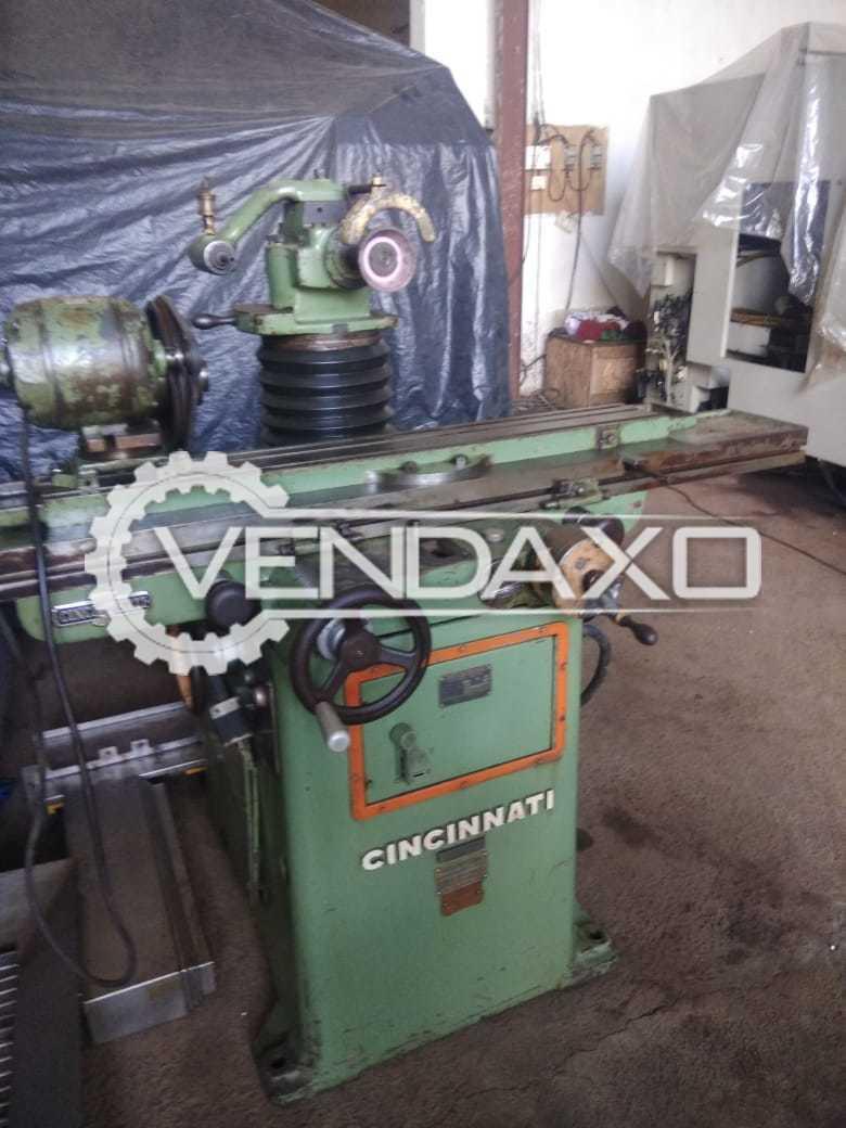 Cincinnati Tool & Cutter Grinder Machine - 6 X 36 Inch