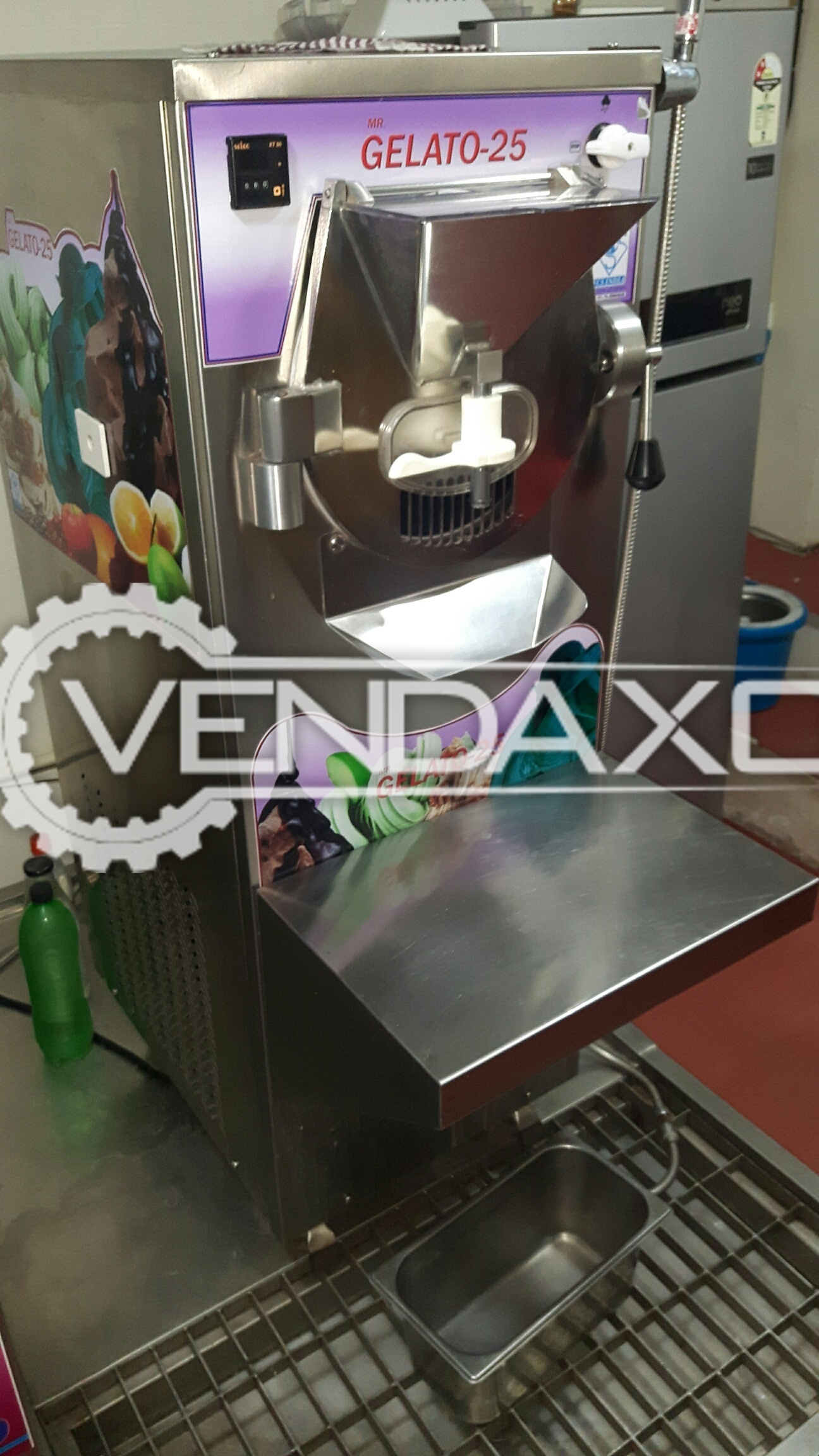 YES VCS Make MR Gelato 25 ARTISAN ITALIAN Processed Food Machinery - Width - 600 mm