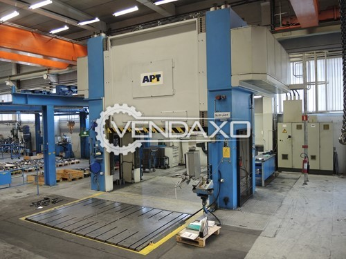 Used APT Make DPG-10000-36/23MB Hydraulic Press - 1000 Ton