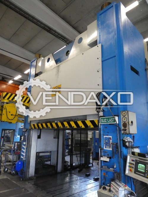Used FJELLMAN Make 107 Tryout Hydraulic Press - 1000 Ton for