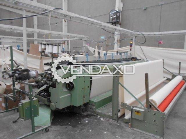 SULZER P7200 Weaving Loom Machine - Width - 390 Cm, 2 Color