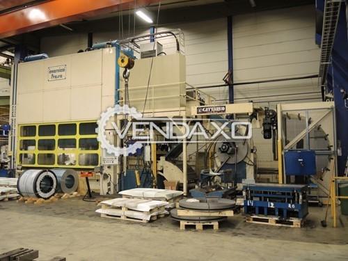 Invernizzi Make T630 GNLM2 CNC Press Line - 630 Ton