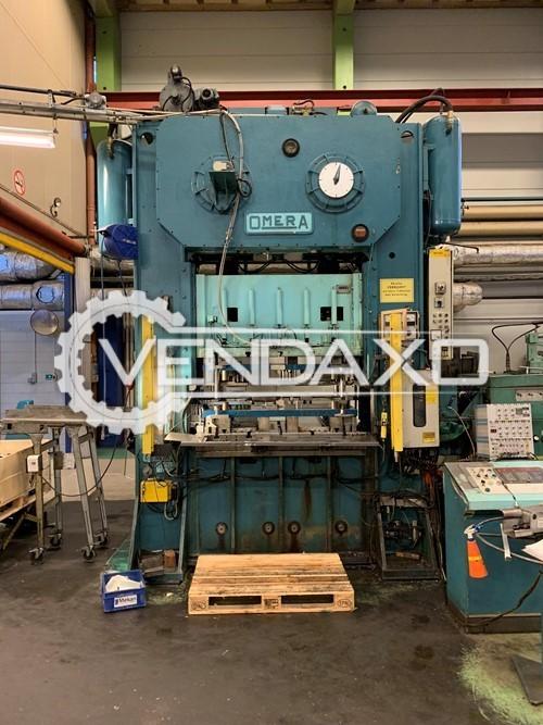 2 Set Of Omera OMP2V-200 Mechanical Press Line - 200 Ton