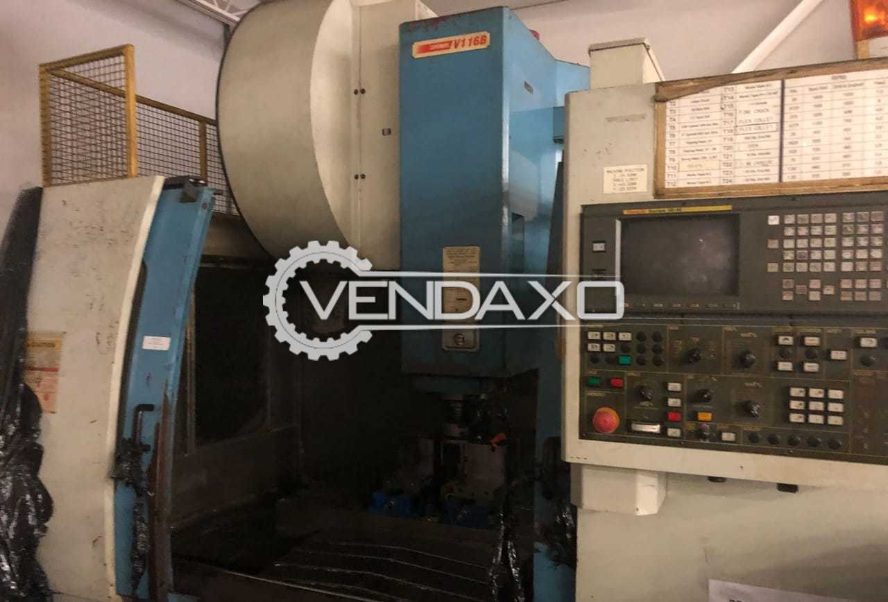 SUPERMAX YCM- Y116B CNC Vertical Machining Center - Table Size - 1200 x 600 mm