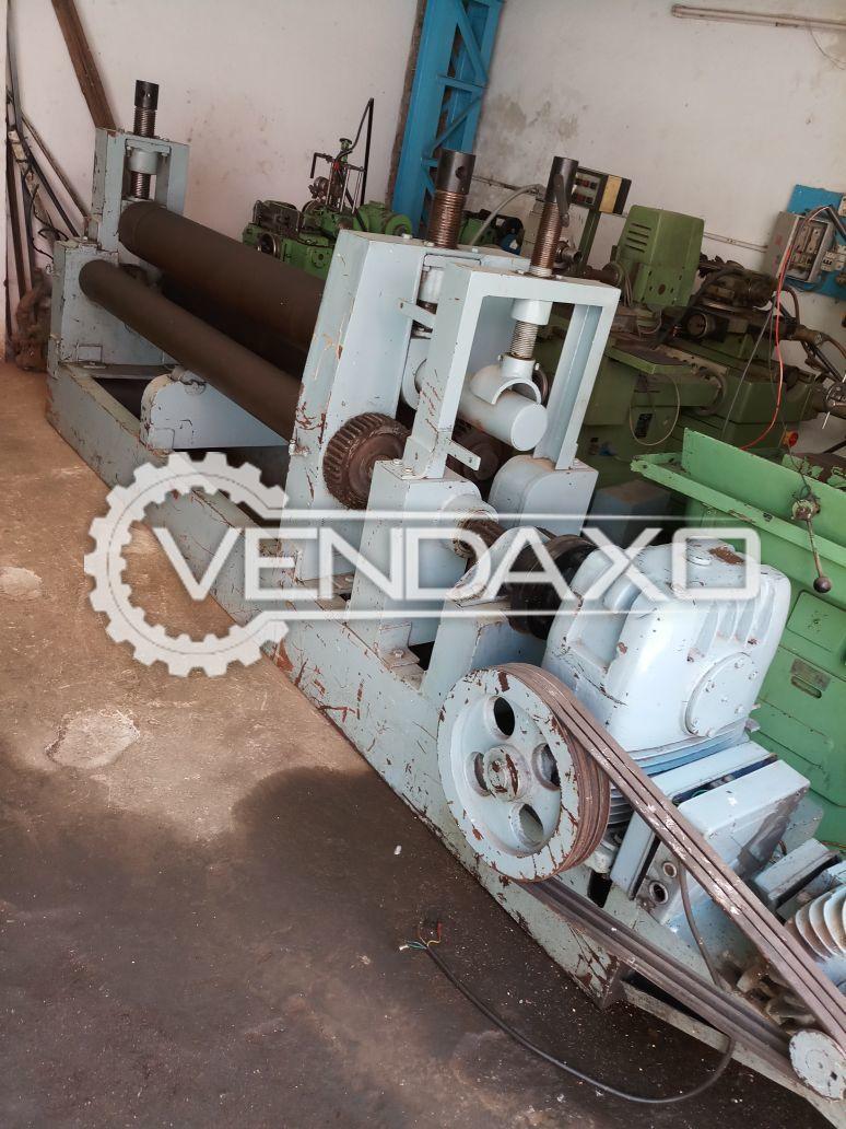 Plate Bending Machine - 2000 mm x 25 mm