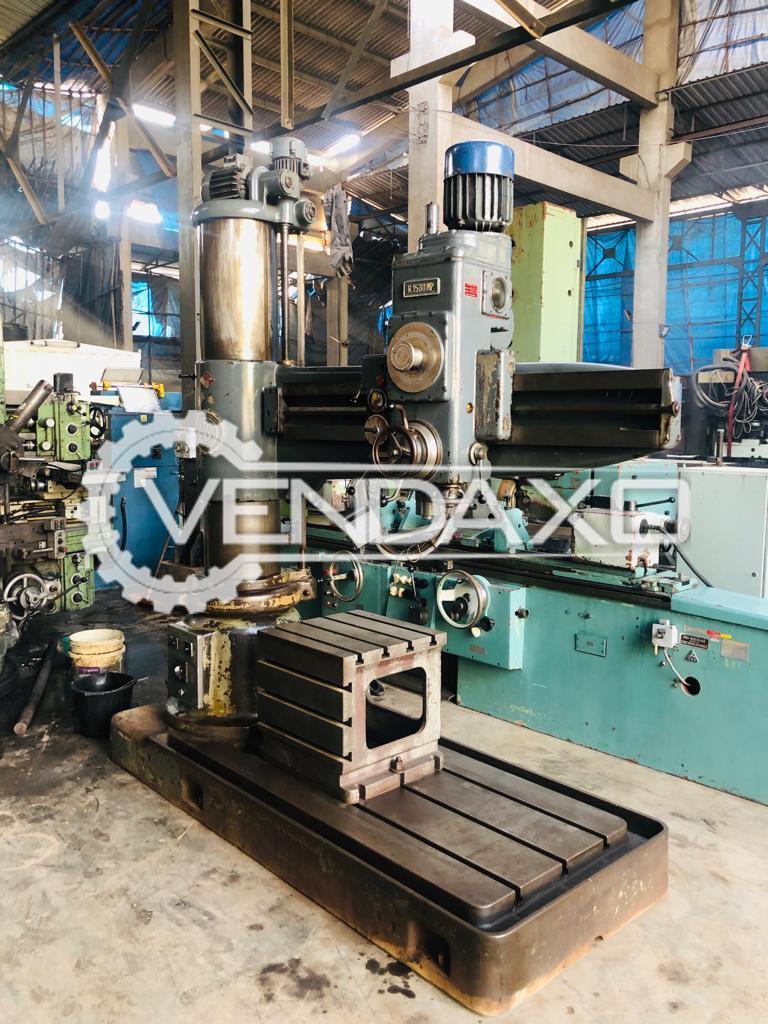 BREDA R1580 MP Drilling Machine - 50 mm