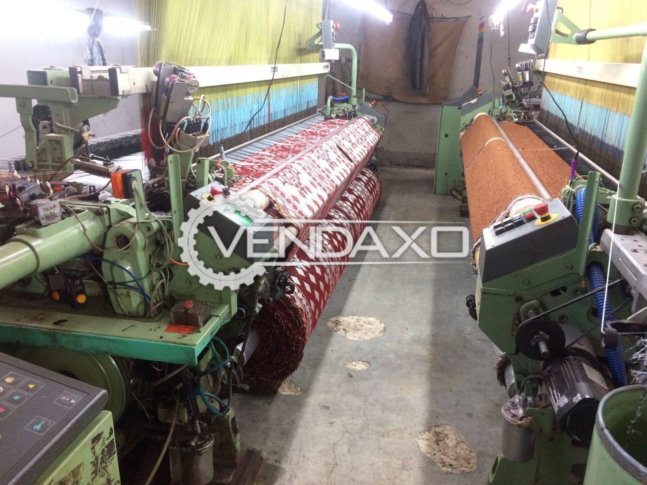2 Set Of Dornier HTV8/J Loom Machine - Width - 340 CM, 1999 Model