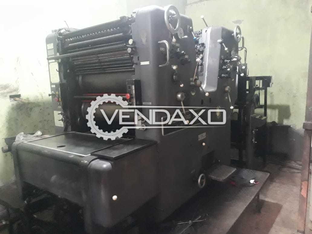 HEIDELBERG Sorkz 512 Offset Printing Machine - 2 Color