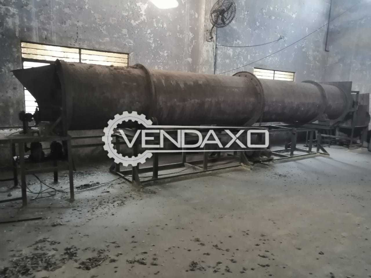 Rotary Dryer - 1.5 to 2 Ton