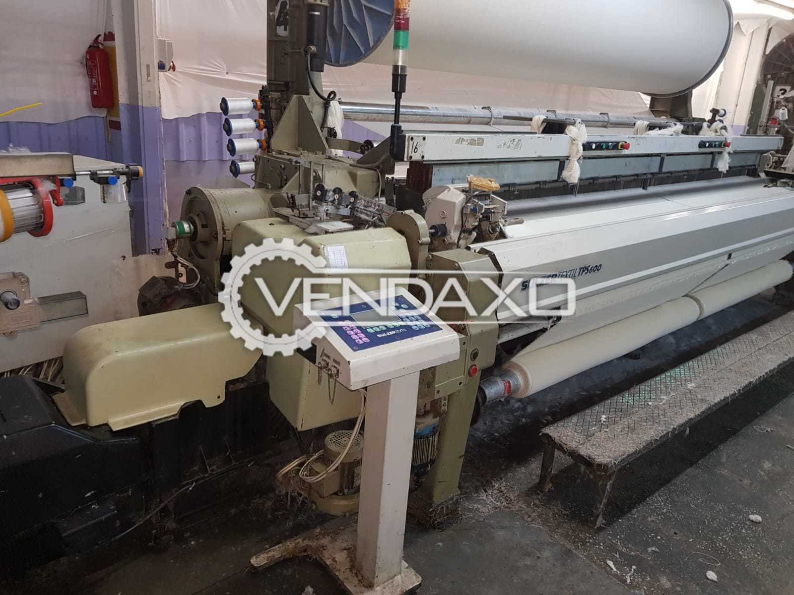 4 Set Of Sulzer TPS600 Terry Towel Loom Machine - Width - 360 CM