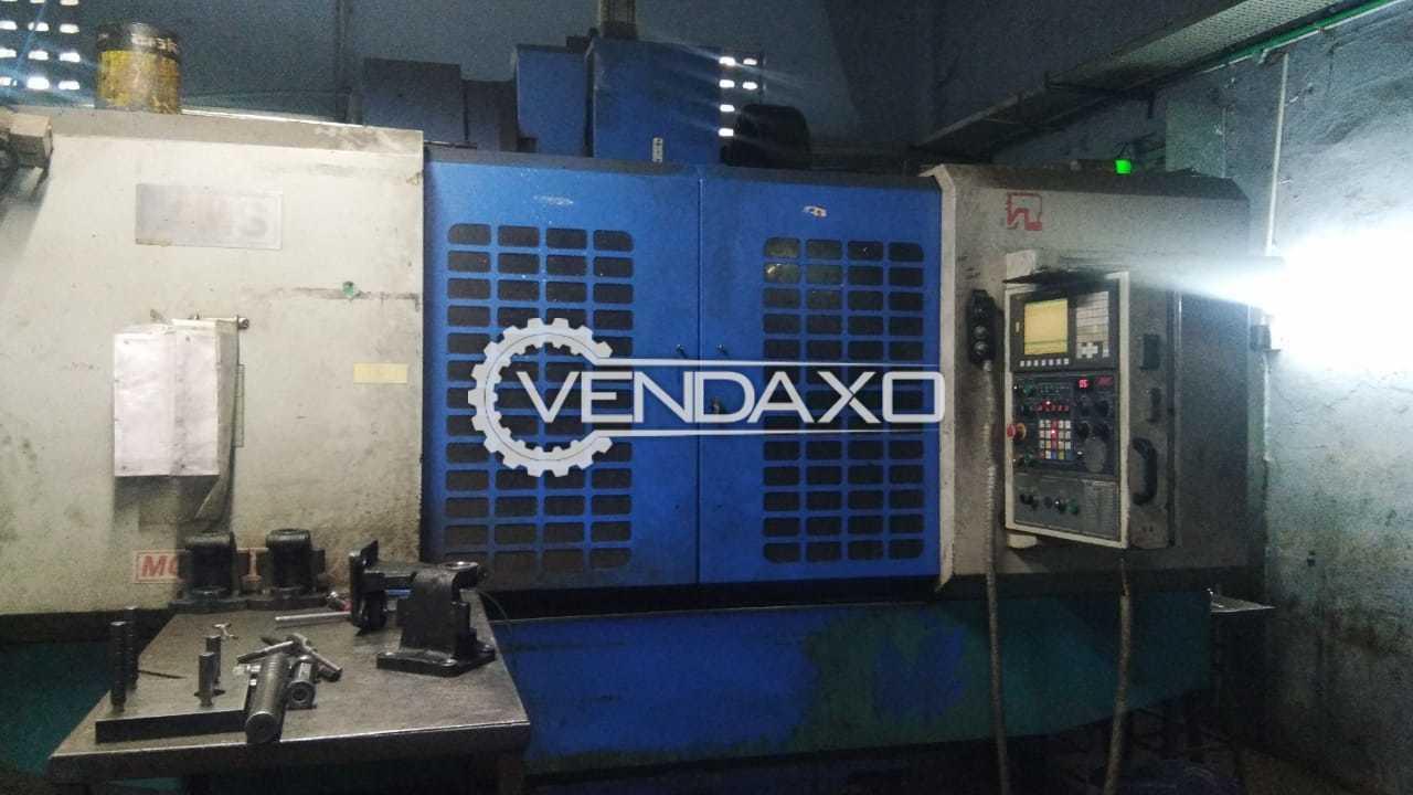 AMS Make MCV 650 CNC Vertical Machining Center - Diameter - 300 mm, 4 Axis