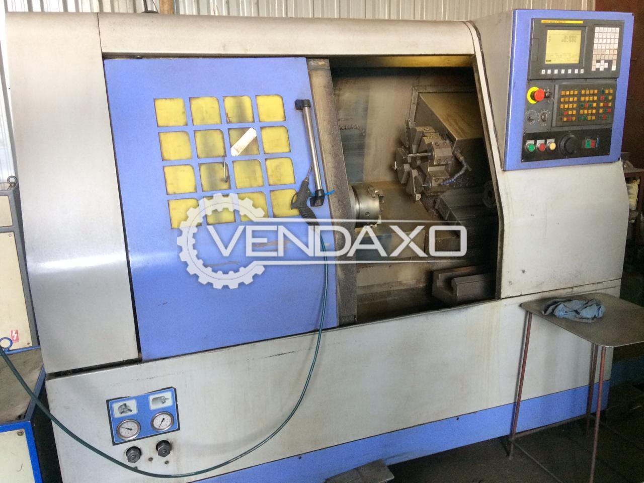 MACPOWER VX-165 CNC Turning Center - Admit Between Center - 300 mm