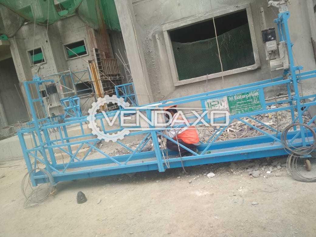 IRI Make Suspended Rope Platform Construction Hoist Machine - 800 KG
