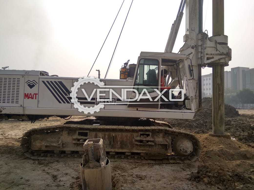 Used MAIT HR-130 Hydraulic Piling Rig - Power - 250 HP for