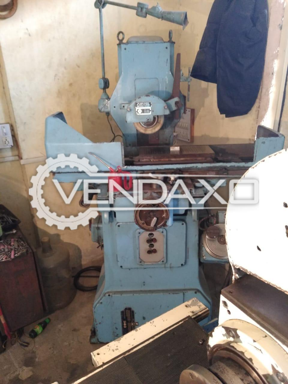 Jones & Shipman 540 Surface Grinder Machine - Wheel Diameter - 280 mm