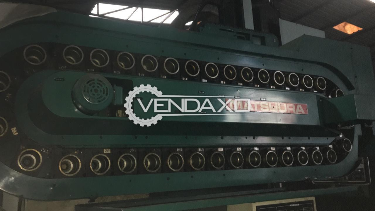 Matsuura CNC Vertical Machining Center - Table Size - 1200 x 600 mm