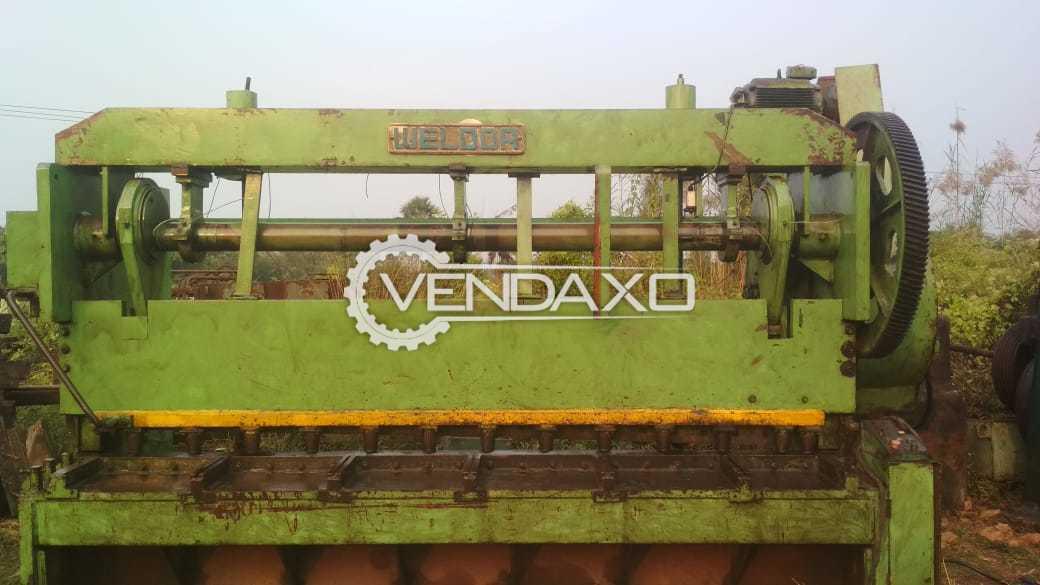 WELDOR Mechanical With Pneumatic Clutch Shearing Machine - 3500 mm x 12 mm