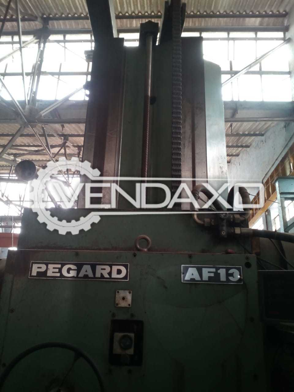 Pegard AF-13 Horizontal Boring Machine - 125 Spindle