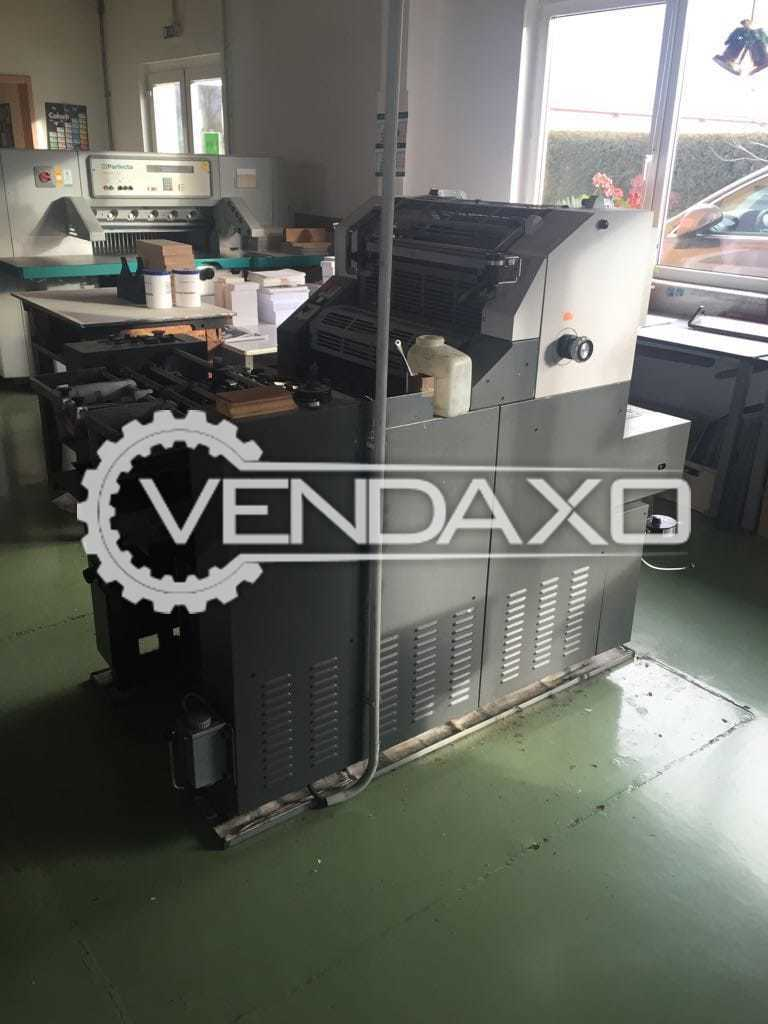 Hamada C-48 Offset Printing Machine - 14 X 19 Inch, Single Color