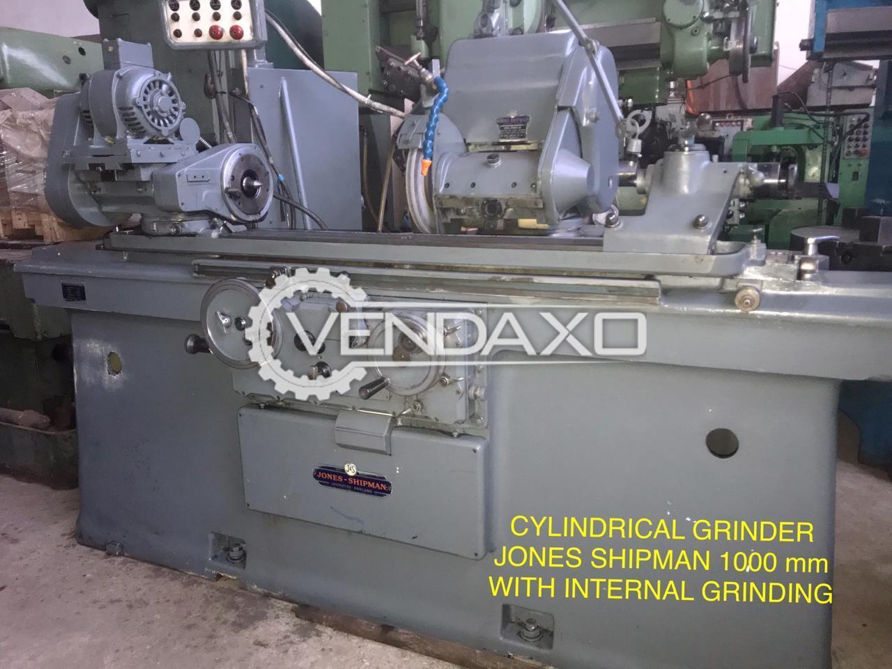 Jones & Shipman Cylindrical Grinder Machine - 1000 mm