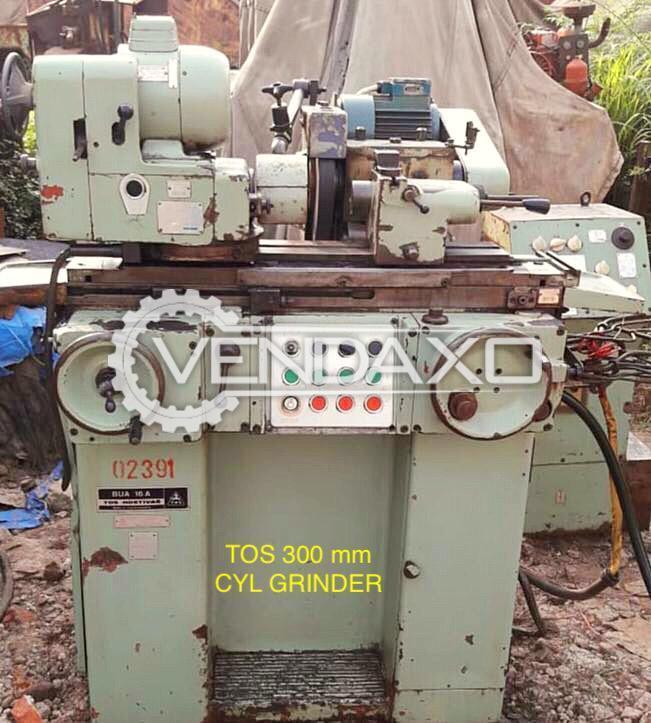 TOS Cylindrical Grinder Machine - 300 mm