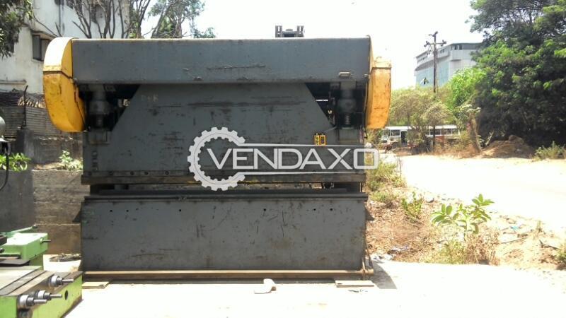 Cyril Bath Make Mechanical Press Brake Machine - 3 Meter x 10 mm