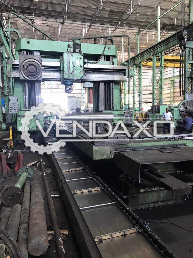 Taiwan Make Plano Miller Machine - 8000 x 3000 mm