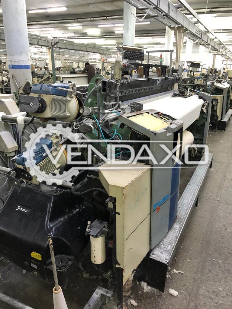 18 Set Of Picanol Omni Plus Loom Machine - Width - 190 CM, 2003 Model