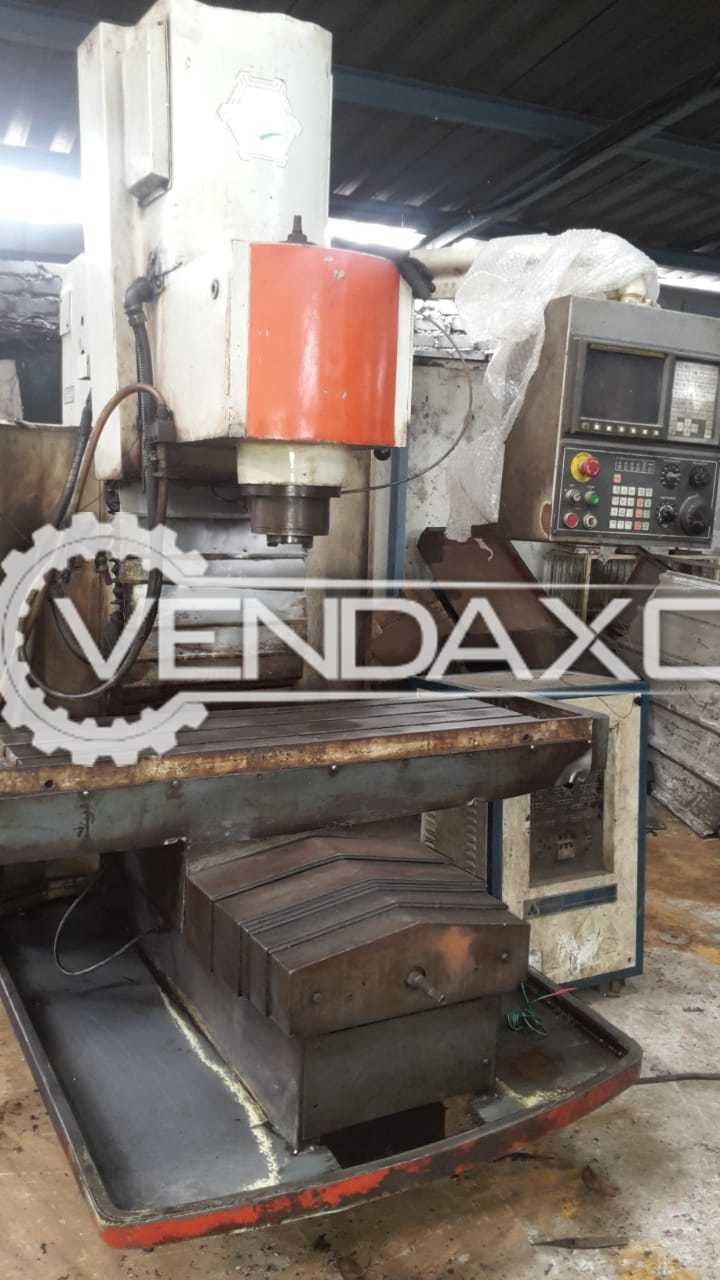 BFW CNC Vertical Machining Center - 700 x 450 x 400 mm