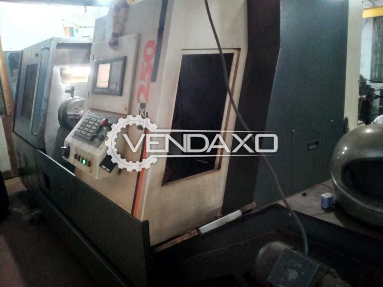 JYOTI DX-250 CNC Turning Center - Length - 1000 mm