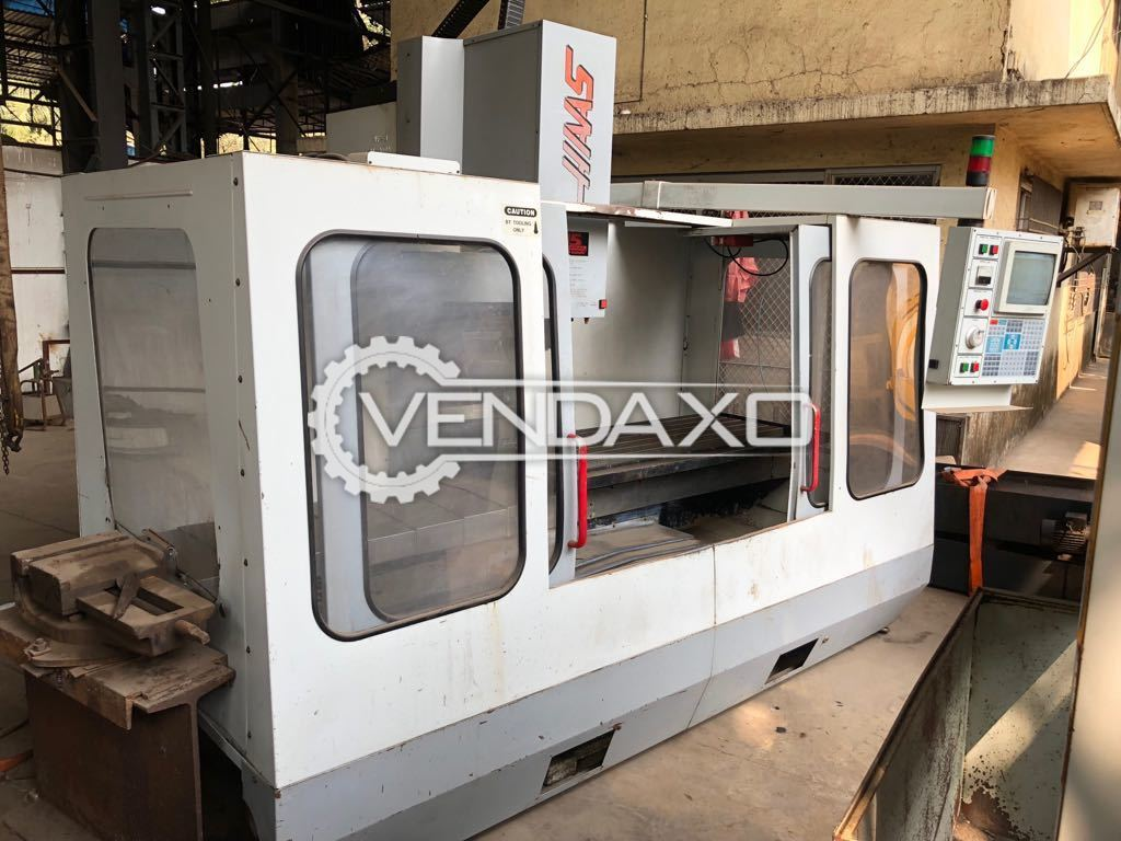 HAAS VF4 CNC Vertical Machining Center - 1270 x 508 x 635 mm