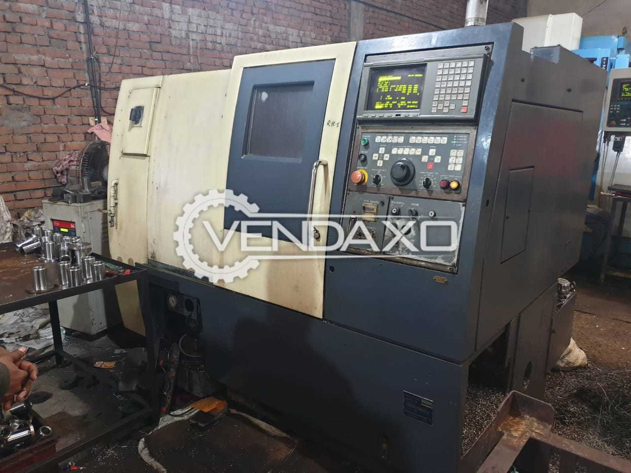 OKUMA ACT 20 CNC Lathe Machine - Spindle Bore - 100 mm, Without Center