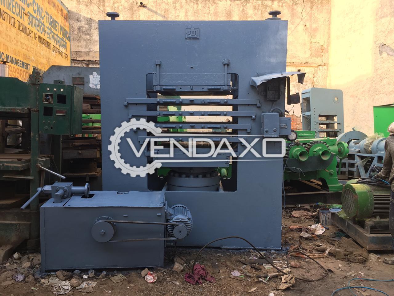 Kabeera Rubber Moulding Machine - Piston Size - 20 Inch