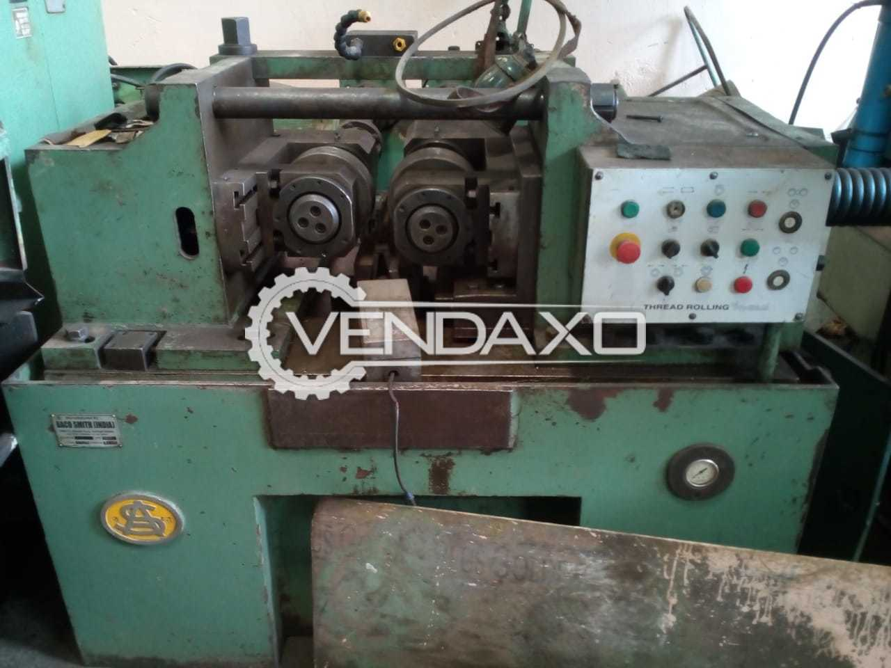 Used Thread Rolling Machine - 25 Ton for Sale at Best Prices