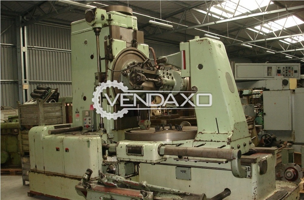 TOS FO16 Gear Hobbing Machine - Diameter - 1600 mm, 16 Module